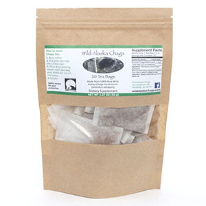 Wild Alaska Chaga Tea Bags