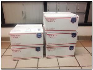 Wild Alaska Chaga Shipping Boxes