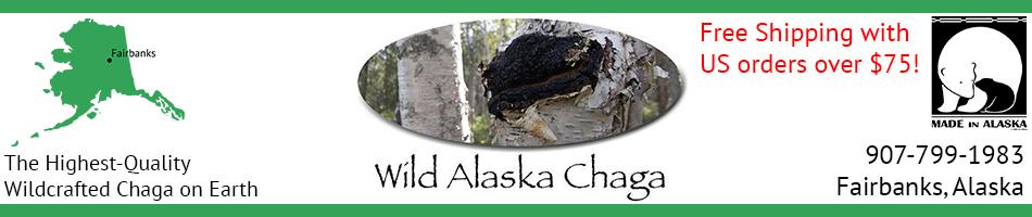 Wild Alaska Chaga Header Free Shipping