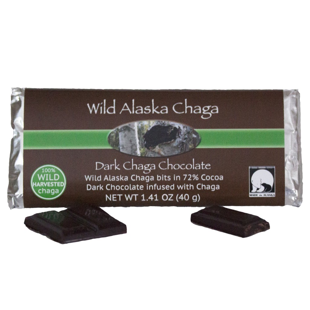 Dark Chaga Chocolate